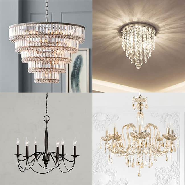 chandelier-collage