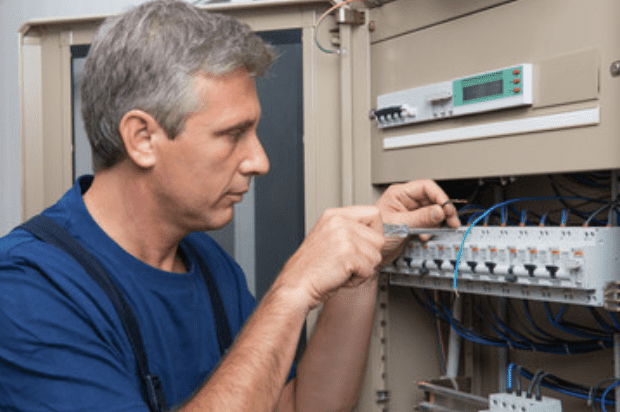 electrician-working-on-switchboard