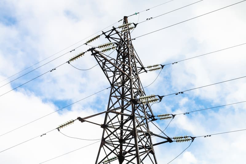tower of electric power
