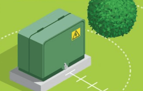 green-electrical-box